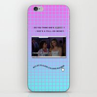 clueless iPhone & iPod Skins featuring Clueless x Monet by Lisa-Roxane Lion
