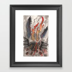Piercing Truth Framed Art Print