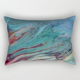 That Touch of Teal Rectangular Pillow