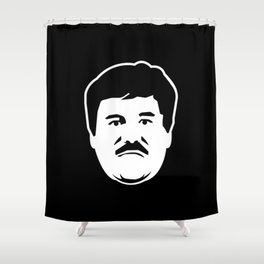 El Chapo Shower Curtain