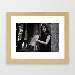 Somente eu Framed Art Print