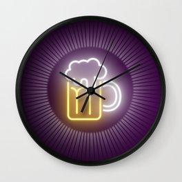 Holy Beer! Wall Clock
