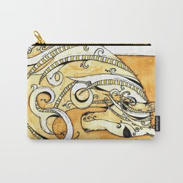 Horse Tea Painting 2 Carry-All Pouch