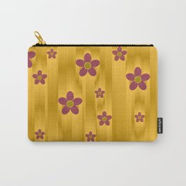 abstract pattern in metal Carry-All Pouch
