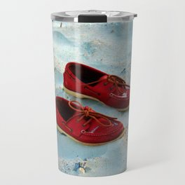 Red Boat Shoes Travel Mug