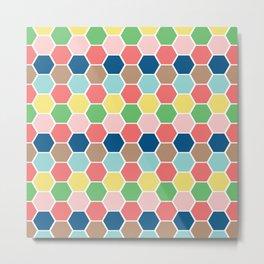 hexagon style2 Metal Print