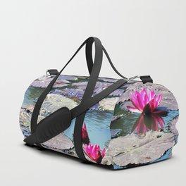 Water lilies Duffle Bag