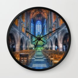 Faith Hope And Love Wall Clock
