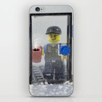 police iPhone & iPod Skins featuring Police Officer by Pedro Nogueira
