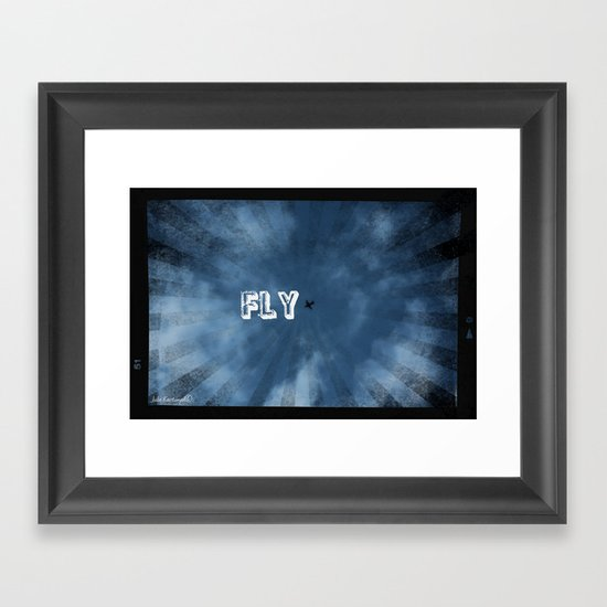 FLY! Framed Art Print