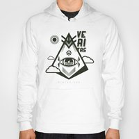 religious Hoodies featuring Vigilo Vos by ohzemesmo
