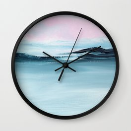 Azure Wall Clock