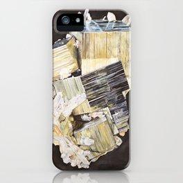 Pyrite and Quartz iPhone Case
