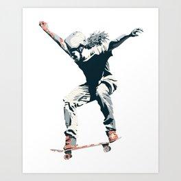 Skater 2 Art Print