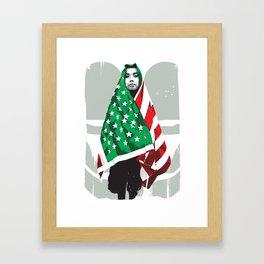 Niños Héroes (Boy Heroes) Framed Art Print