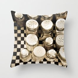 Vintage Salt And Pepper Shakers Throw Pillow