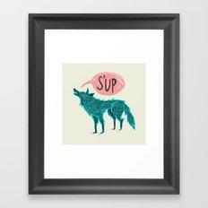 S'up Framed Art Print
