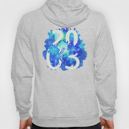 Blue Flower 2003 Hoody