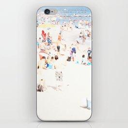 Blue Beach Brooklyn iPhone Skin