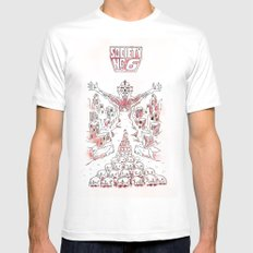 Society #6 Mens Fitted Tee White MEDIUM