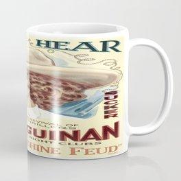 Vintage poster - The Moonshine Feud Coffee Mug