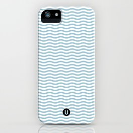 U12: postal blue iPhone Case