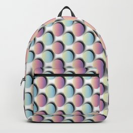 Pastel Easter Egg Pattern Backpack
