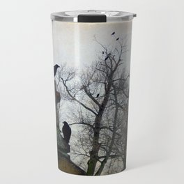 A Gatherng Of Crows Travel Mug