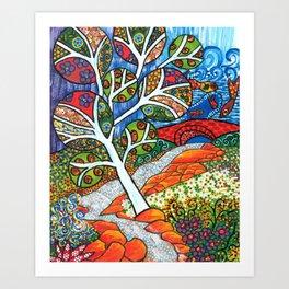 Ruscello Art Print