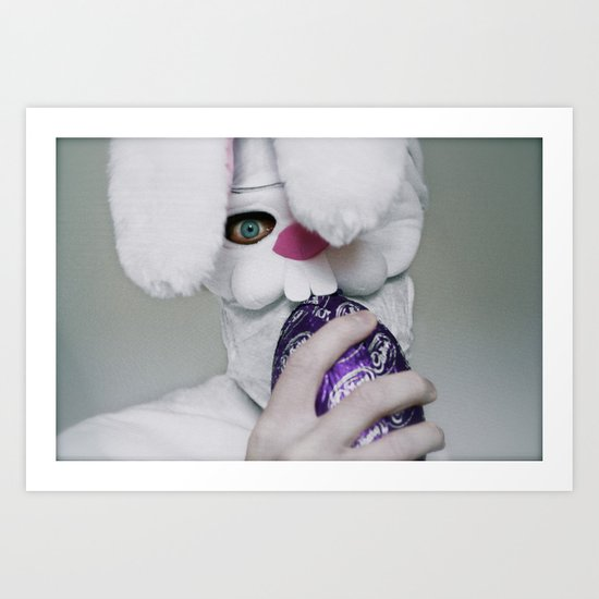 I Will Eat Your Soul (Happy Easter) Art Print