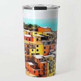 Manarola Liguria Travel Mug