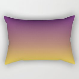 purple yellow gradient Rectangular Pillow