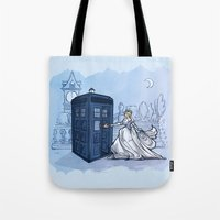 hallion Tote Bags featuring Come Away with Me by Karen Hallion Illustrations