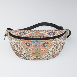 Isfahan Antique Central Persian Carpet Print Fanny Pack