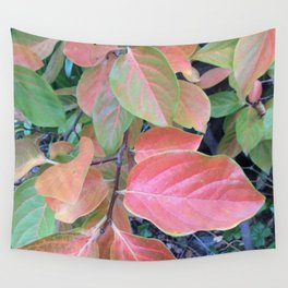 Persimmon tree Wall Tapestry