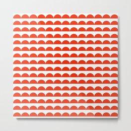 BREE ((cherry red)) Metal Print