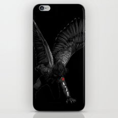 winged winter soldier iPhone & iPod Skin