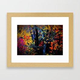 Pumped Up Fall Framed Art Print