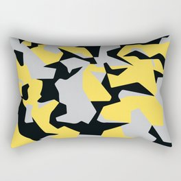 Search products, artworks and themes Yellow CAMO, Keep your stuff hidden in plain sight! Rectangular Pillow