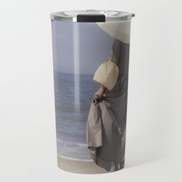 White Parasol II Travel Mug