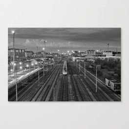 Turin's railway Canvas Print