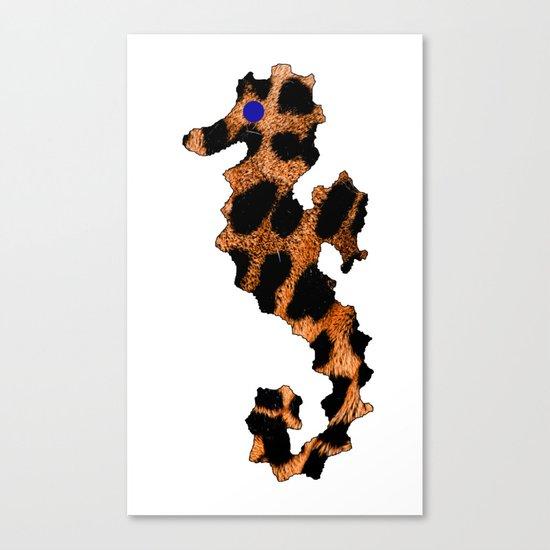 SEA LEOPARD Canvas Print