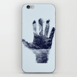 High five world iPhone Skin