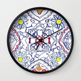 Isola Sunset Signature Print Wall Clock