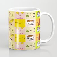 cartoons Mugs featuring Classic Cartoons by DanielBergerDesign