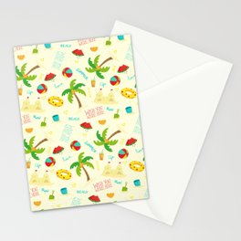 Hello, summer Stationery Cards