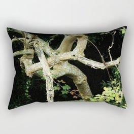 Green Perspective Rectangular Pillow