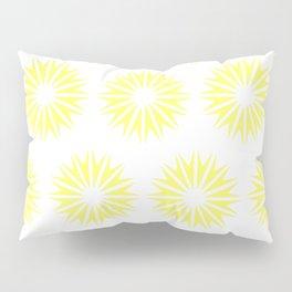 Lemonade Modern Sunbursts Pillow Sham