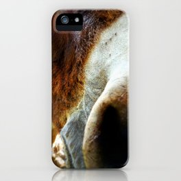So Nosey iPhone Case