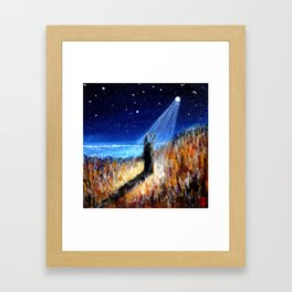 Ancestral Star Framed Art Print